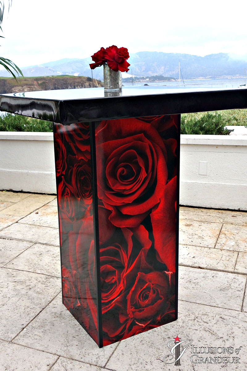 """Rose Cocktail Tables 32"""" Top x 42""""h"""