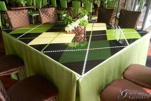 """Argyle Square Tables 60"""" x 60"""" x 30""""h"""