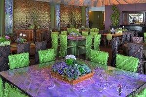 """Lavender Tables 66"""" x 66"""" x 30""""h"""