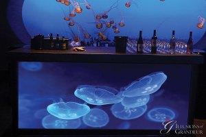 "Jellyfish Bars 96"" x 30"" x 42""h"