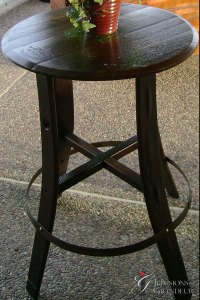Wine Cocktail Table