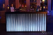 "Corrugated Metal Acrylic Metal Bar 24""x94""x46""h"