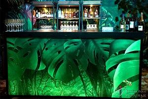 """Jungle Bar 24""""x94""""x46""""h"""