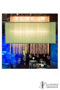 "Rectangular Chandelier 60""x10""x33""H"