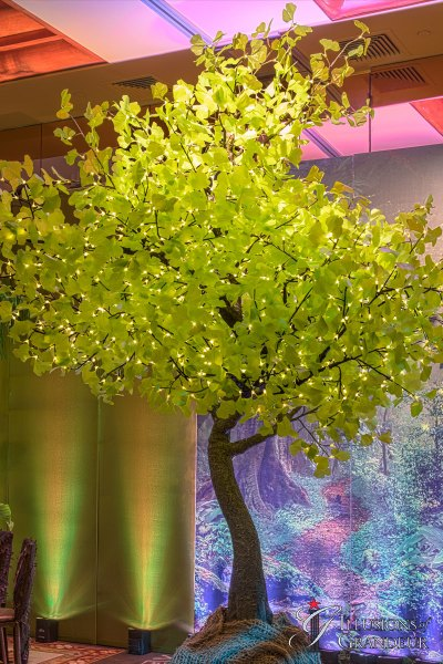 Illuminated Ginkgo Trees small
