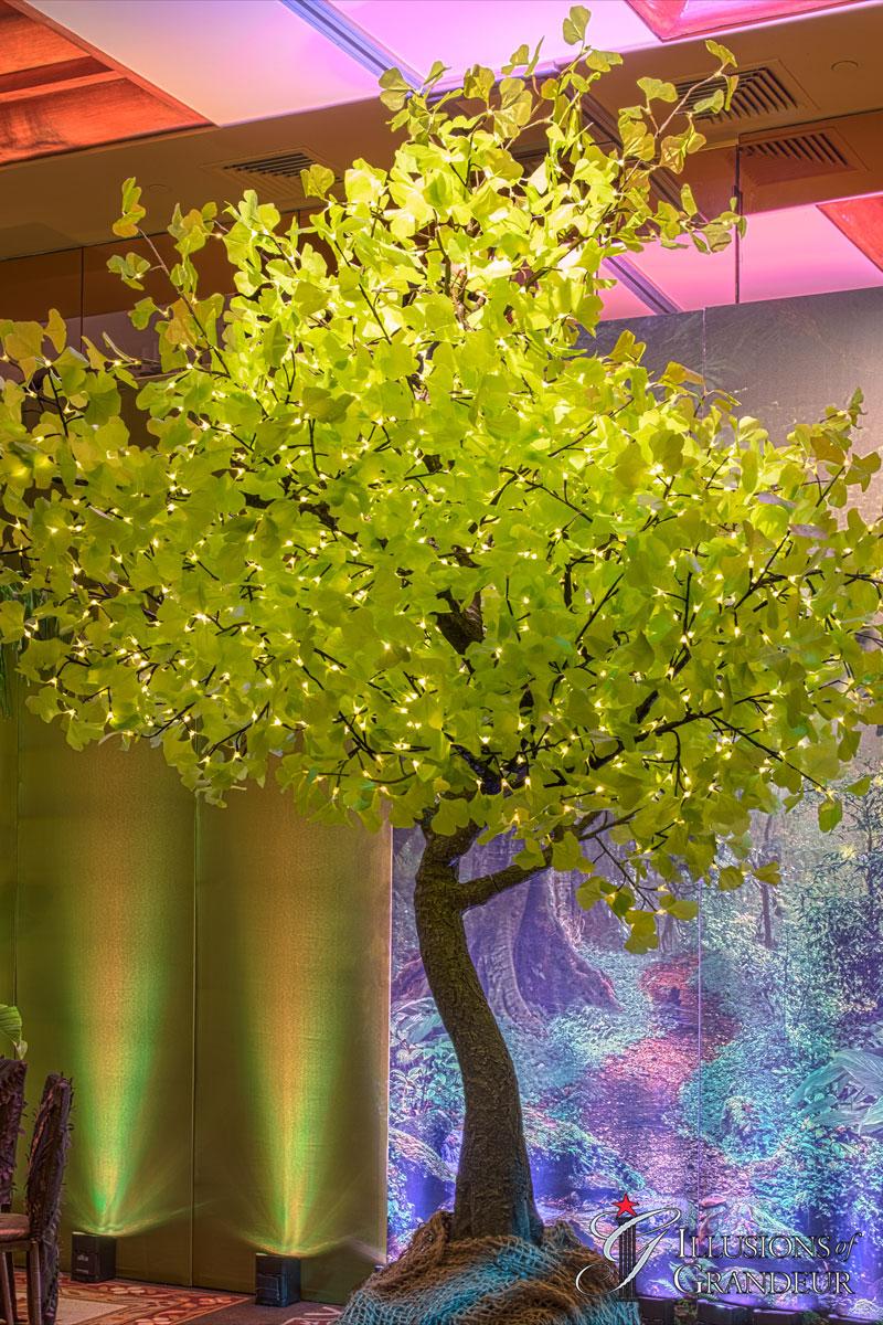 """Ginkgo Tree 120""""x120""""x132""""H"""