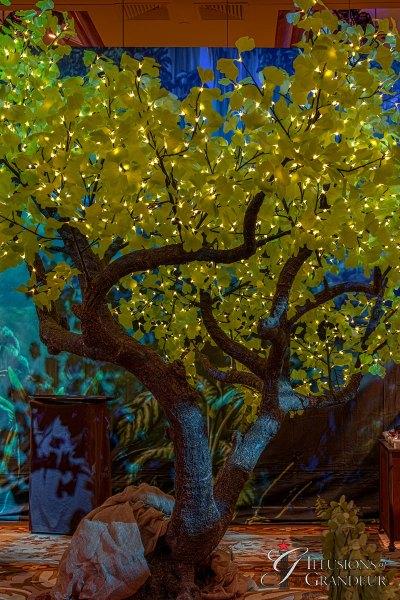 Illuminated Ginkgo Trees large