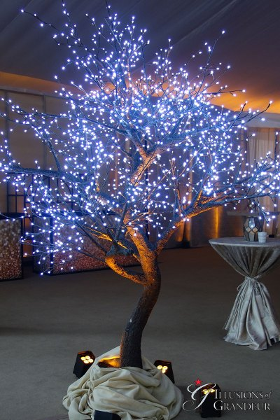 Illuminated LED Trees