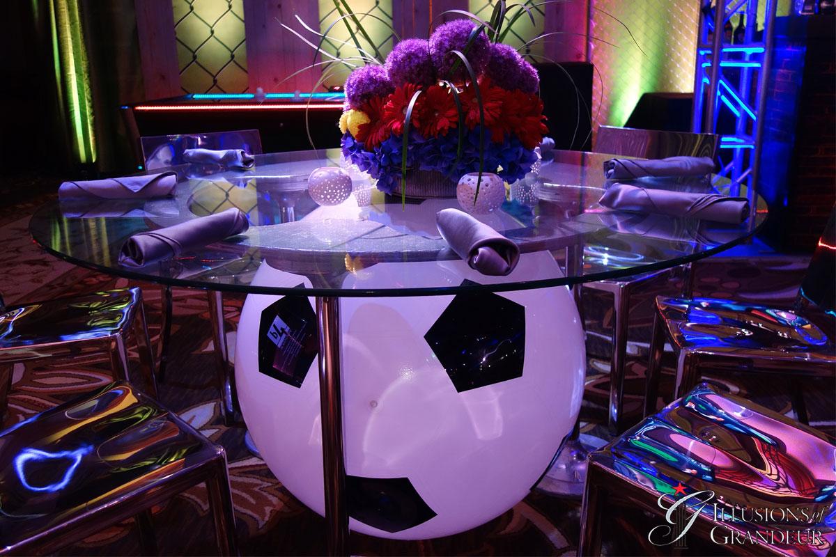 Soccer Ball Tables