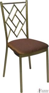 Bronze Diamond Chairs with Brown Riviera Cushions