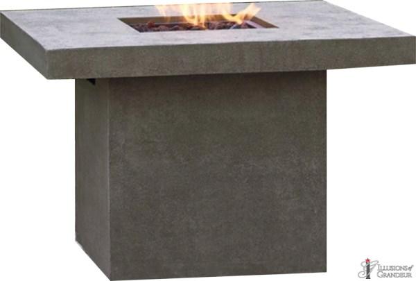 Fire Pit: Square Concrete