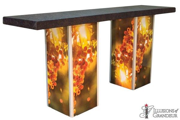 Illuminated Grape Communal Tables