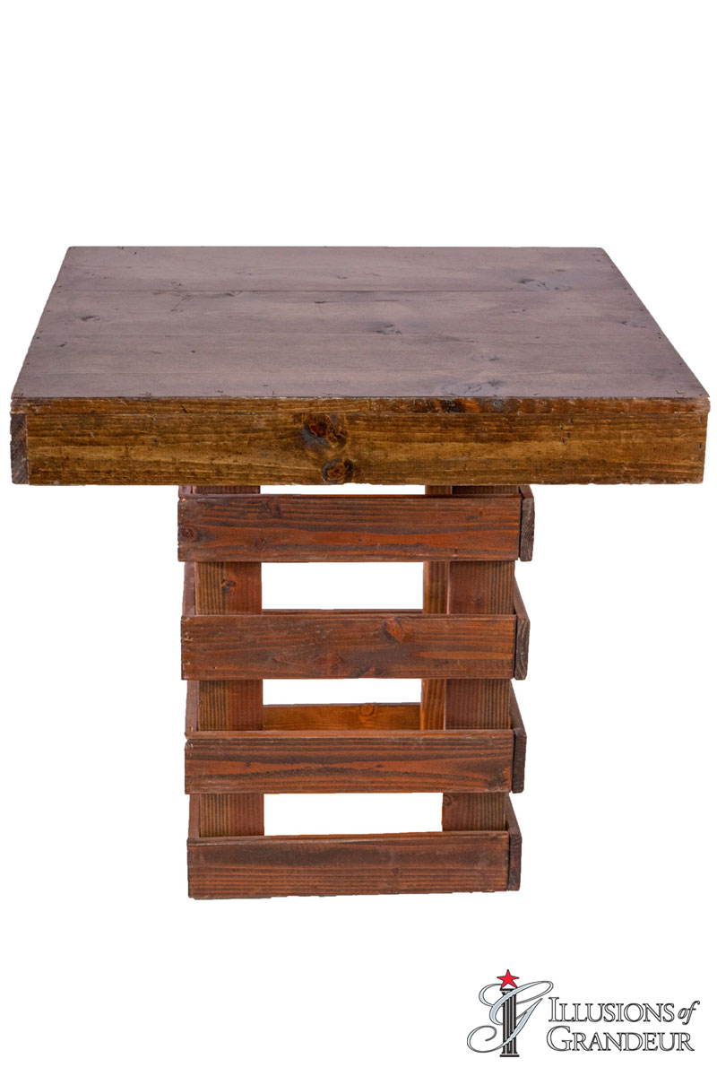 Rustic Cocktail Tables ~ short