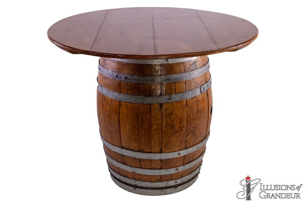 Wine Barrel Dining Tables