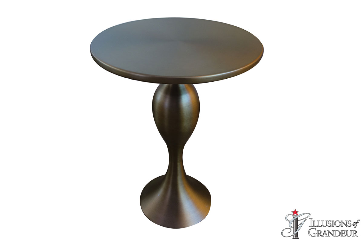 Antique Bronze Side Tables