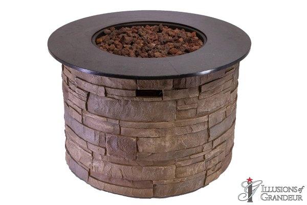 Fire Pits: Carmel Stone