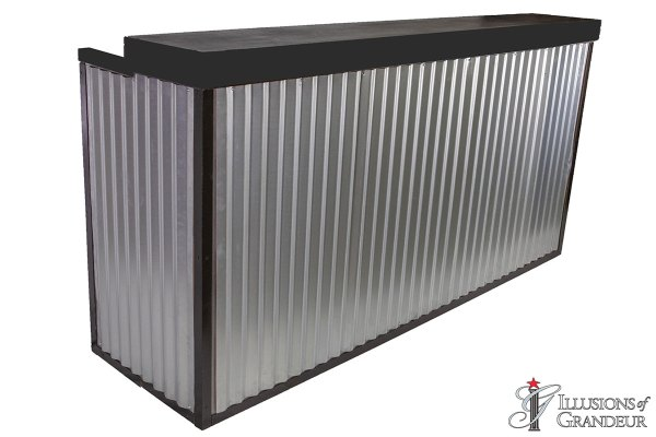 Corrugated Metal Bars