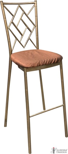 Diamond Back Bar Stools