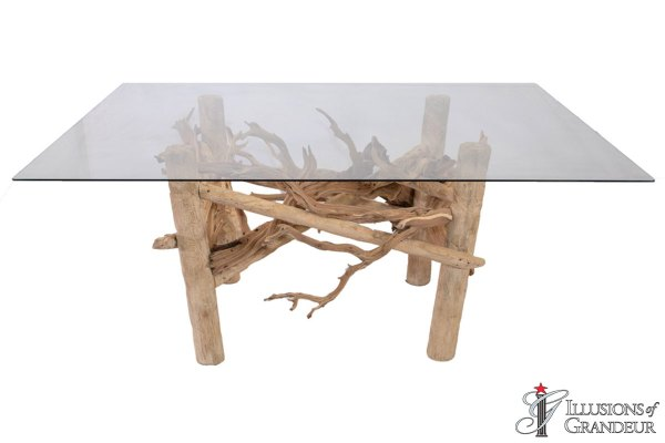Driftwood Dining Tables large