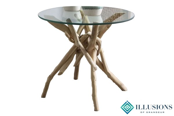 Side Tables: Driftwood