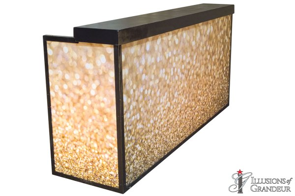 Illuminated Gold Sparkle Bars