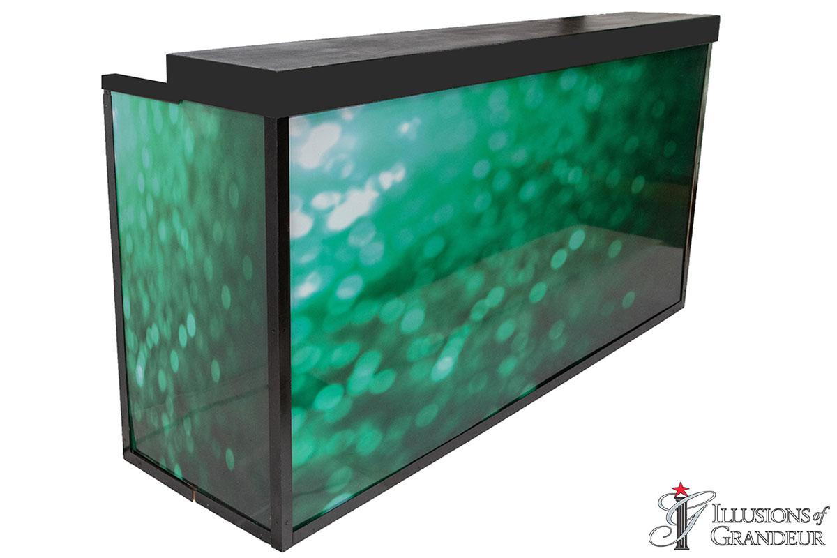 Illuminated Green Sequin Bar