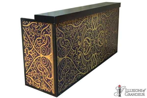 Illuminated Moroccan Bar