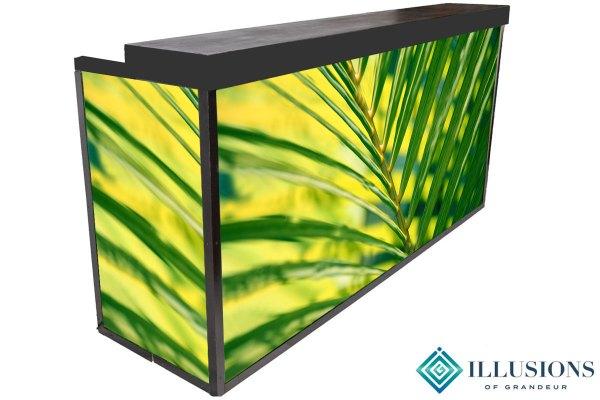 Illuminated Tropical Bar