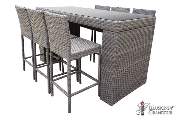 Oasis Bar Table Sets with Bar Stools