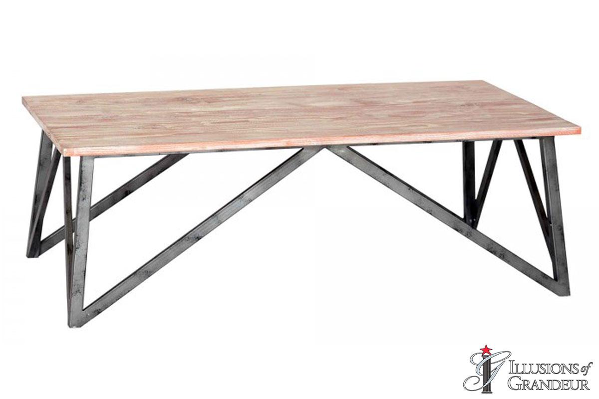 Pine Top Coffee Table