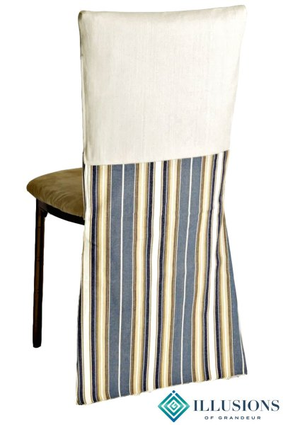 Bronze Diamond Chairs with Regatta Chair Back Cover