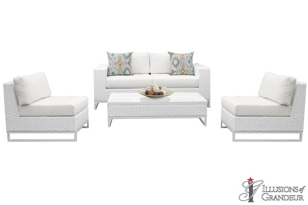 Wicker Miami Patio Furniture