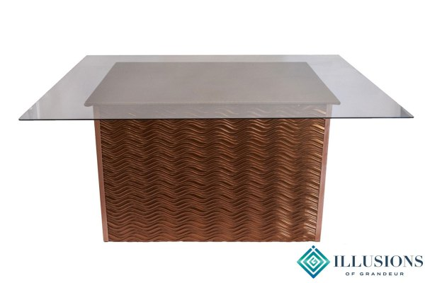 Bronze Wave Dining Tables