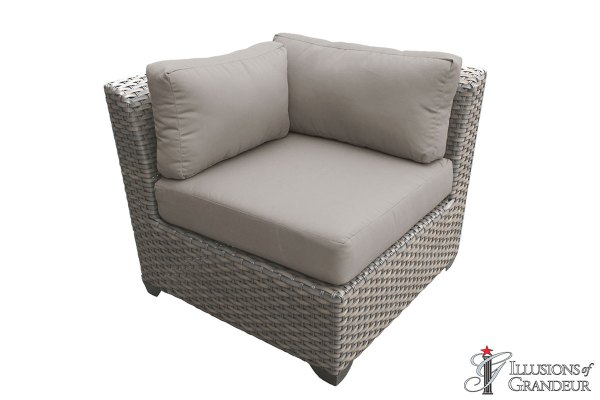 Wicker Florence Corner Sofa