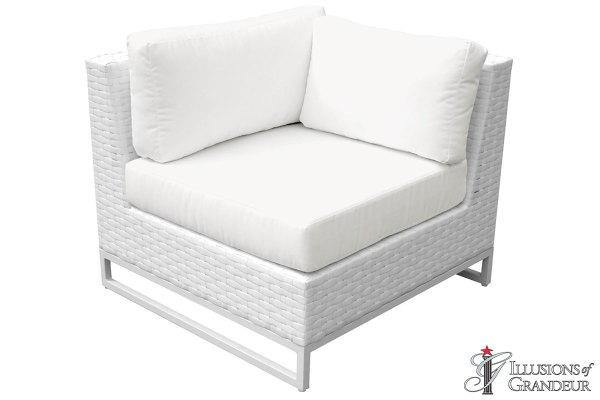 Wicker Miami Corner Sofa