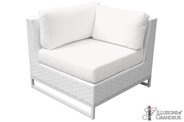 Wicker Miami Corner Sofa