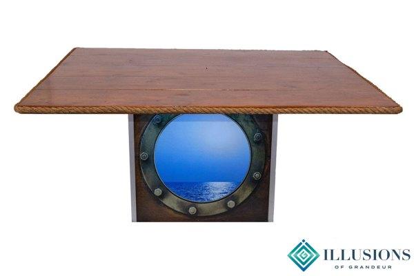 Illuminated Porthole Dining Tables