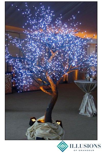 Illuminated LED Trees