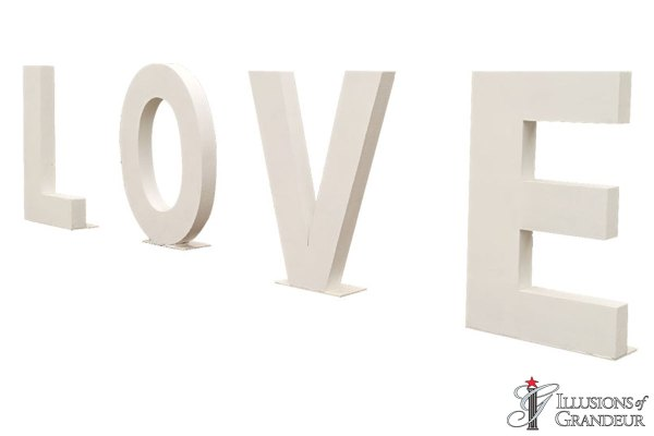 Wedding LOVE Letters