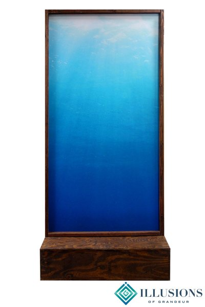 Room Divider with Water Image