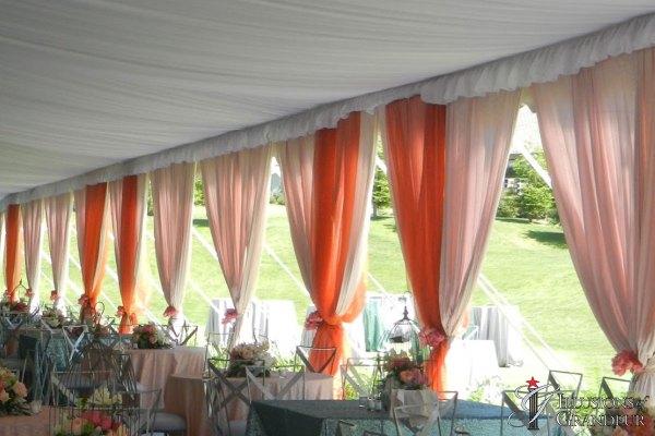 Wedding Tent Drape
