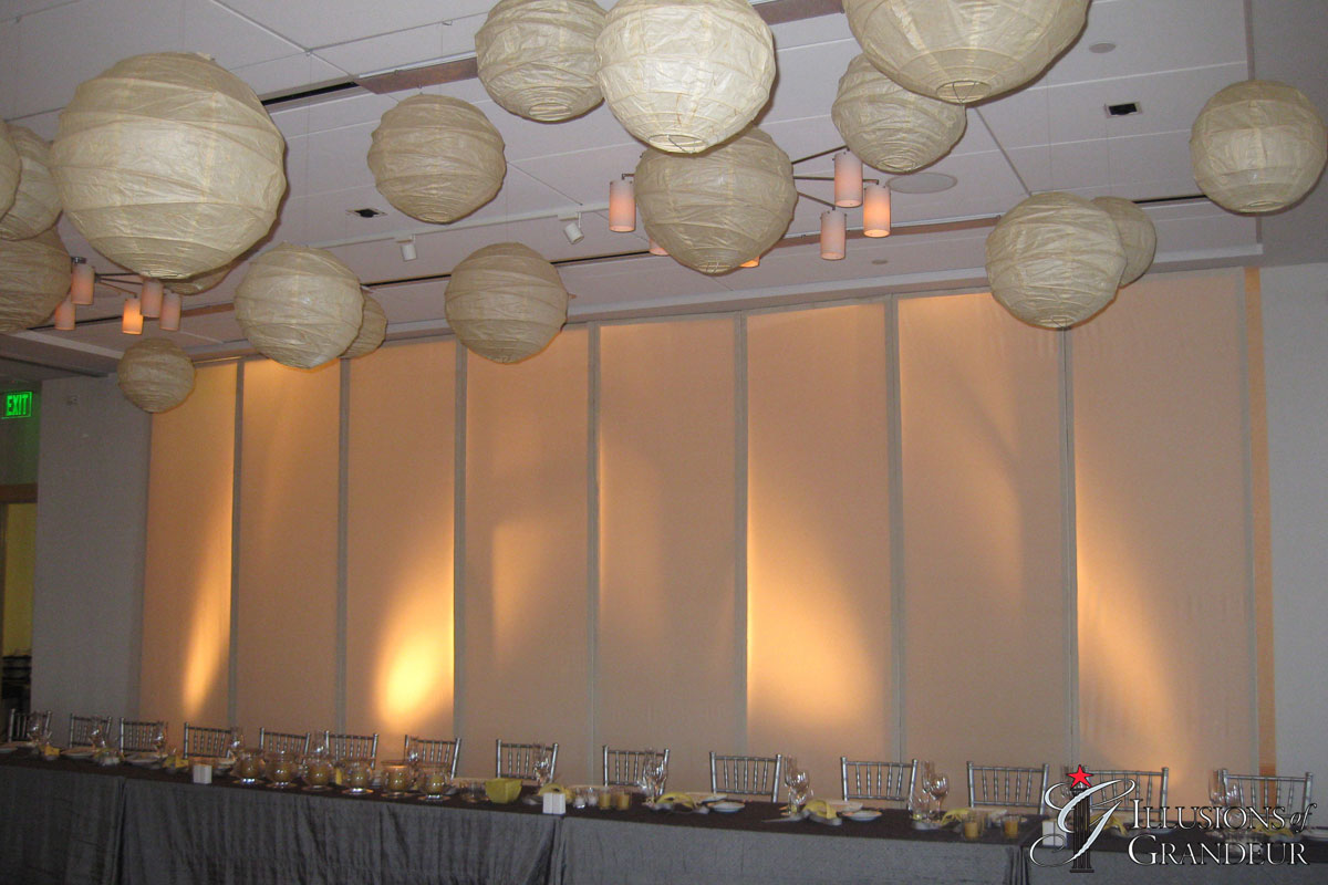 Uplit Screens and Lanterns