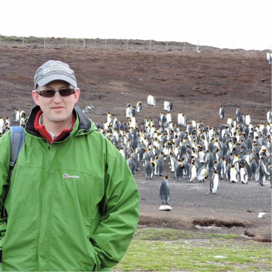 Penguins: Mark's new blog about life and being a Christian magician in the Falkland Islands