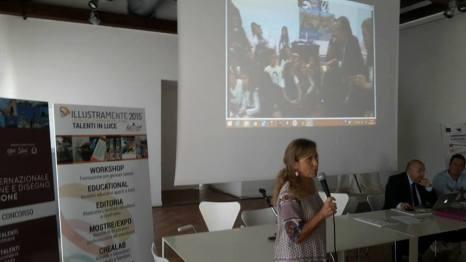 Rosanna. Nella foto, a destra, il webmaster del Comune di Palermo, Giuseppe Meli