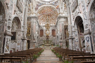 Palermo, la chiesa barocca di Santa Caterina