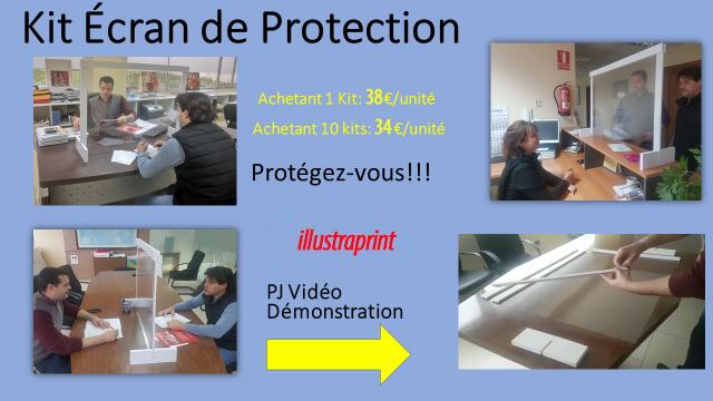 vente kit écran de protection