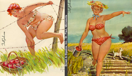 Hilda the Fabulous Full Figured PinUp  The Illustrated