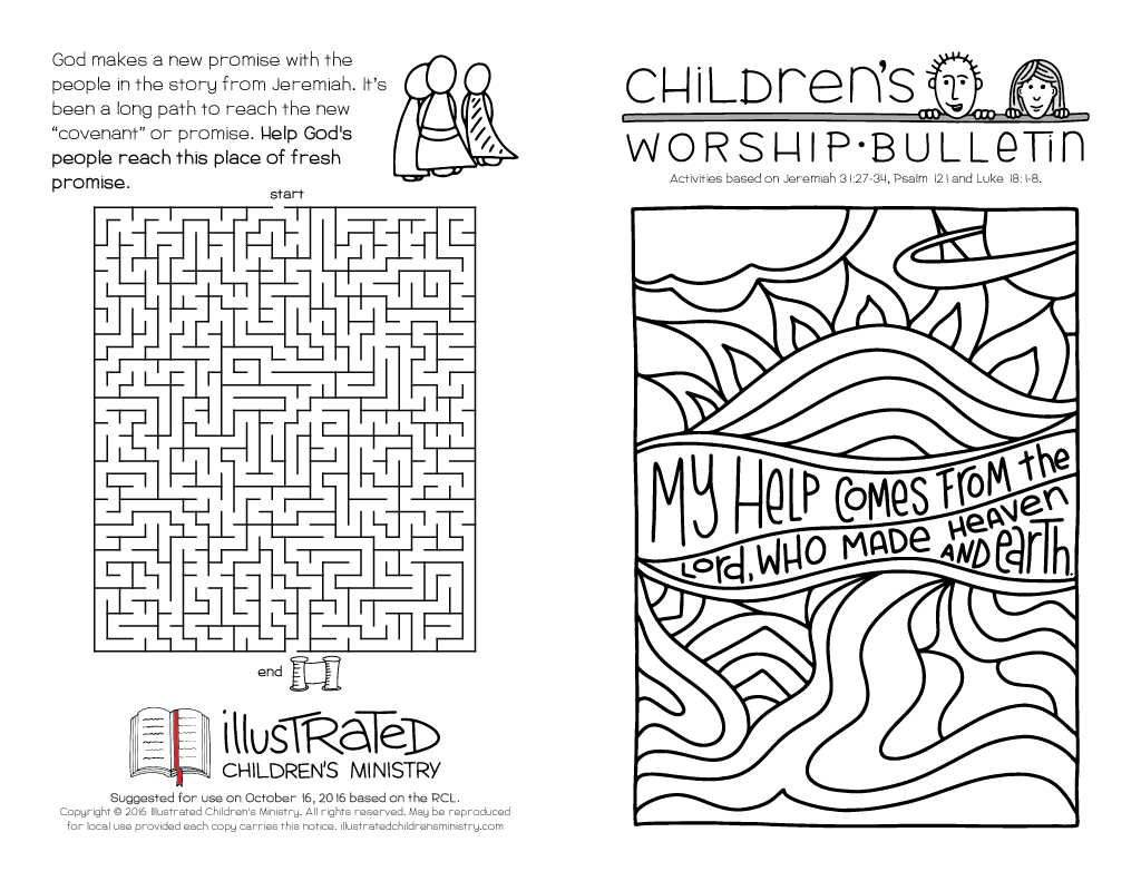 childrens-worship-bulletin