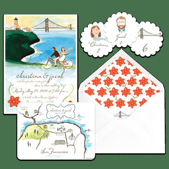 Ponta Bonita Lighthouse wedding featured on Snippet & Ink