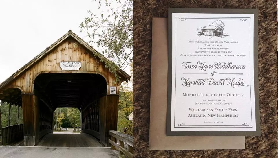 Farm House Invitation featured in 360 West
